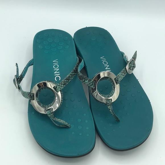 Vionic scarpe   Rest  Karina Teal Snake  Rest  Poshmark 871290